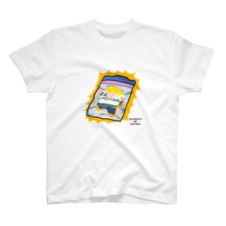 ジップロックにとじこめられた T-shirts
