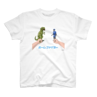 ハップのホームファイター バトルA T-shirts