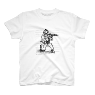 らくがきとくしゅぶたい T-shirts