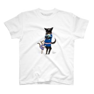 ピオにぃにとびわ T-shirts