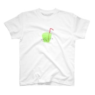 めろんそーだくんシャツ T-shirts