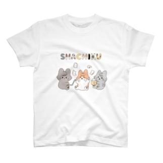 ねこねこ社畜Tシャツ T-shirts