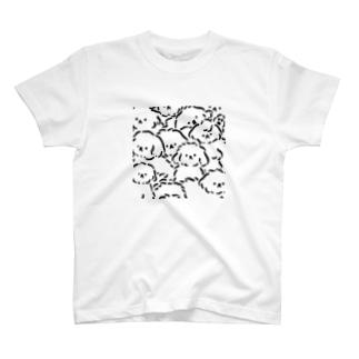 いぬといぬと T-shirts