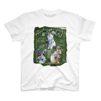 BiVin'B 2020年保護猫CAFEチャリティ企画のにゃんちゅーさん*ホームズファミリーver T-Shirt