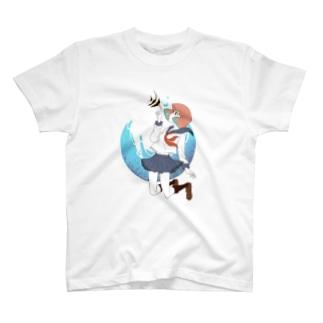海中少女 T-shirts