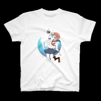 Acabane* Shopの海中少女 T-shirts