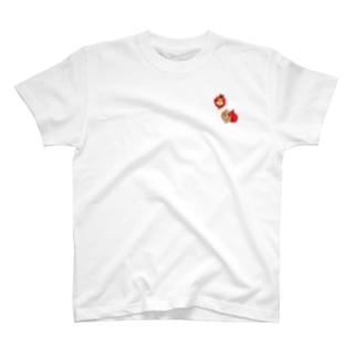 ワンポイントはいちゃいました T-shirts