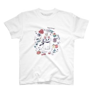 たたメーピー 〈Heartthrob🐱💓🌿〉 T-shirts