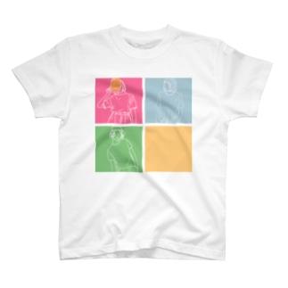 がーるず T-shirts