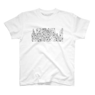 snapdragon−frame T-shirts