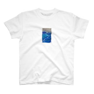 雲が雨で満ちると T-shirts