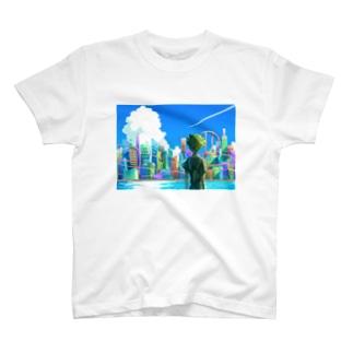 シティスケープ T-shirts