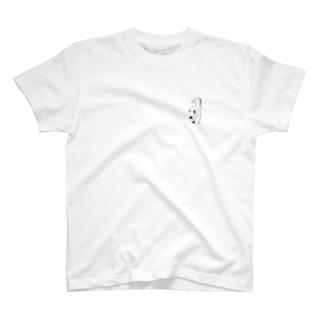 見ず書いたウマ T-shirts