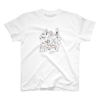 Sapporo LIVE HOUSE Charity(ALL LAD CONS!×永盛文生) T-shirts
