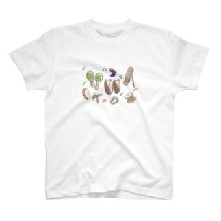 楽器 T-shirts