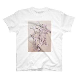 子天使と子悪魔 T-shirts