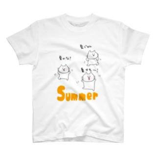夏がきそうなおとうふくん T-shirts