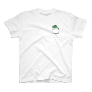 恐竜グランプリ@ポケット_メガロサウルス T-shirts