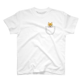 ぽけ柴 T-shirts