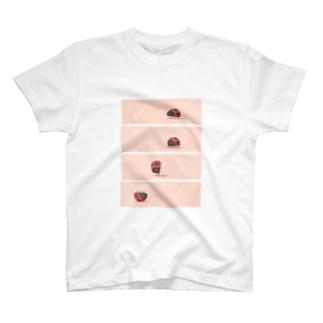 でんぐり返し虫 T-Shirt