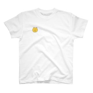 うさまるよいちょのよだれをたらす黄ぐまさん T-shirts