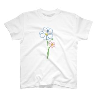 シュウメイギク T-shirts