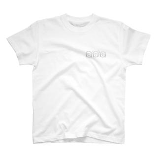 三つの感情 T-shirts
