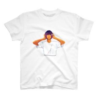 おなやみガール T-shirts