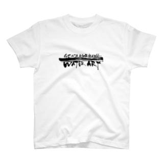 ロゴ入り(黒文字)23色 T-shirts