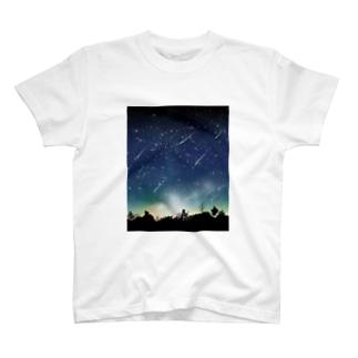 流星 T-shirts