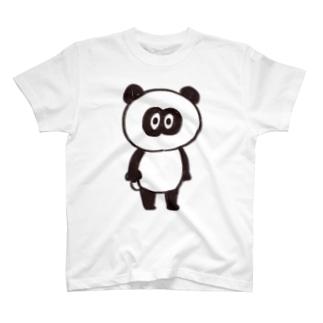 パンダメイク T-shirts