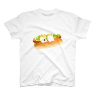ホットドッグでほっと一息Tシャツ T-shirts