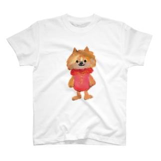 わんこびとさん/いちご T-shirts