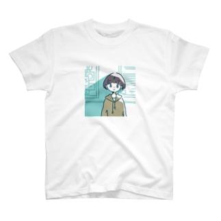 なぶかめ_🗜の日がさす T-shirts