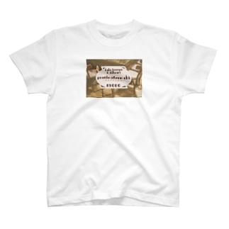 ロゴ&カウンター T-shirts