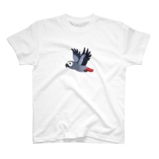 ヨウム T-shirts