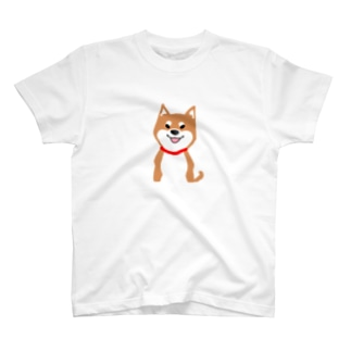 柴犬のゴンちゃん T-shirts