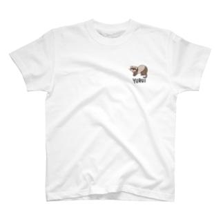 フェレット〜YURUI〜 T-shirts