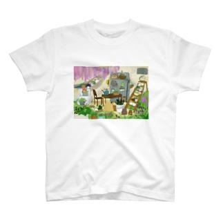 隠れ家 T-shirts