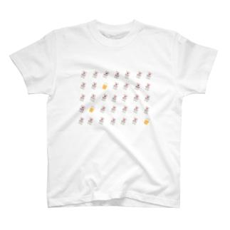 肉球印のビール T-shirts