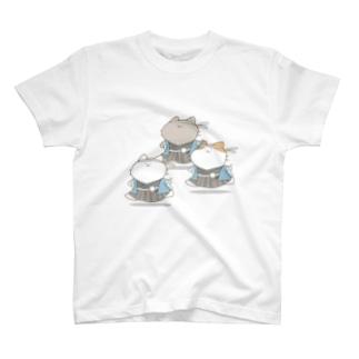 新撰組にゃんこ T-shirts