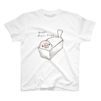 パウンド文鳥 T-shirts
