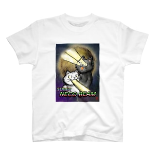 スーパーねこビーム T-shirts