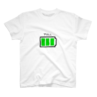 FULL電池マーク T-shirts