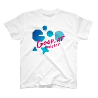 Good_at  // SUMMER-SKY BLUE T-shirts