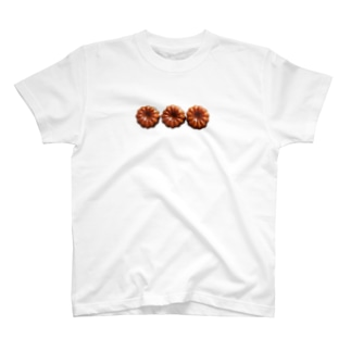 上からカヌレ。 T-shirts