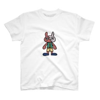 イカしてるうさぎくん T-shirts