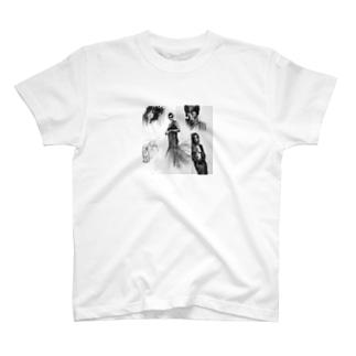 菅野翔一のanalog sketch T-shirts