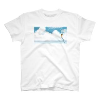 コーヒーカップ風鈴 T-shirts