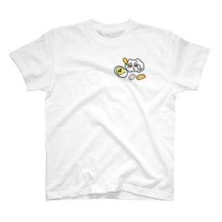 ヤングコーン育てちみ T-shirts